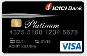 icici platinum credit card