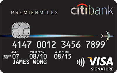 Citibank Premier Miles Credit Card for Travel