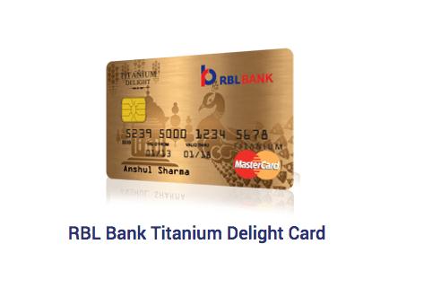 RBL Bank Titanium Delight Credit Card Review