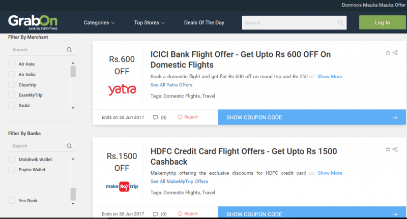 MakeMyTrip Credit Card Offers MakeMyTrip customers can use their credit cards to make flight, hotel, bus and holiday bookings and avail various cashback offers and discounts. Offers are available on ICICI Bank Credit Cards, HDFC Bank Credit Cards, SBI Credit Cards, Axis Bank Credit Cards, etc., for bookings done on wxilkjkj.tk