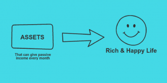 Assets for passive income and rich life