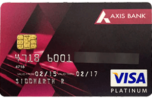 axis insta credit card