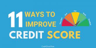 ways to improve credit score