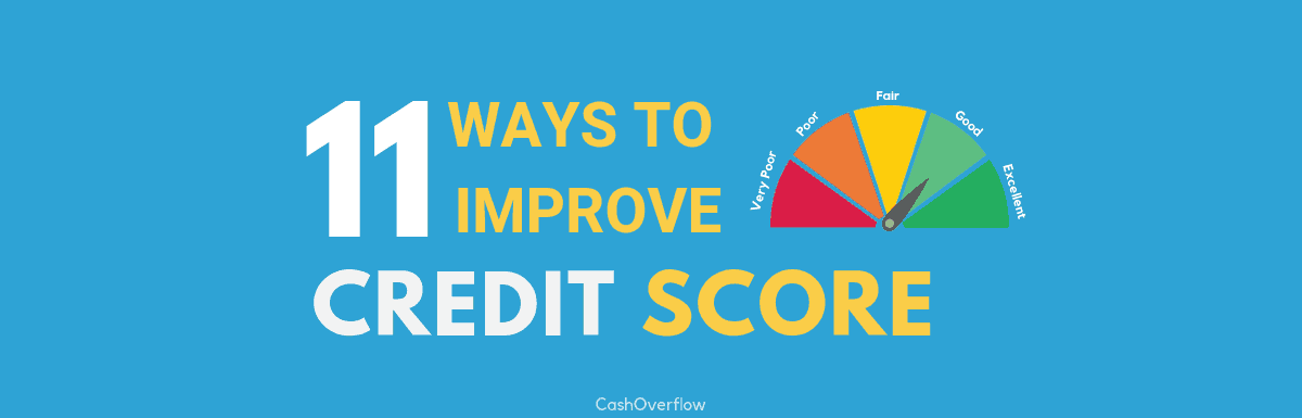 11 Powerful Tips on How to Improve CIBIL Score in 2019