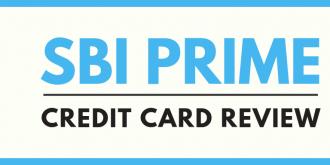 SBI Prime Credit Card Review