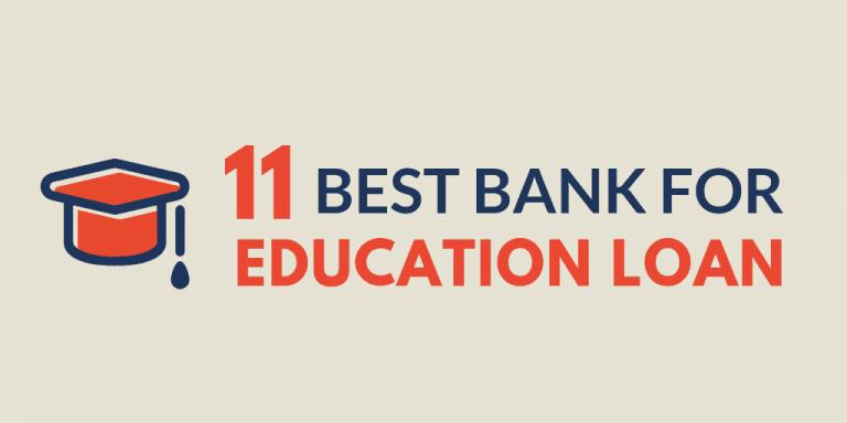 best bank for education loan