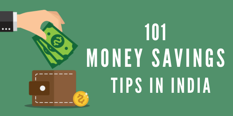 101 money savings tips in india
