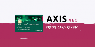 Axis Neo Credit card review