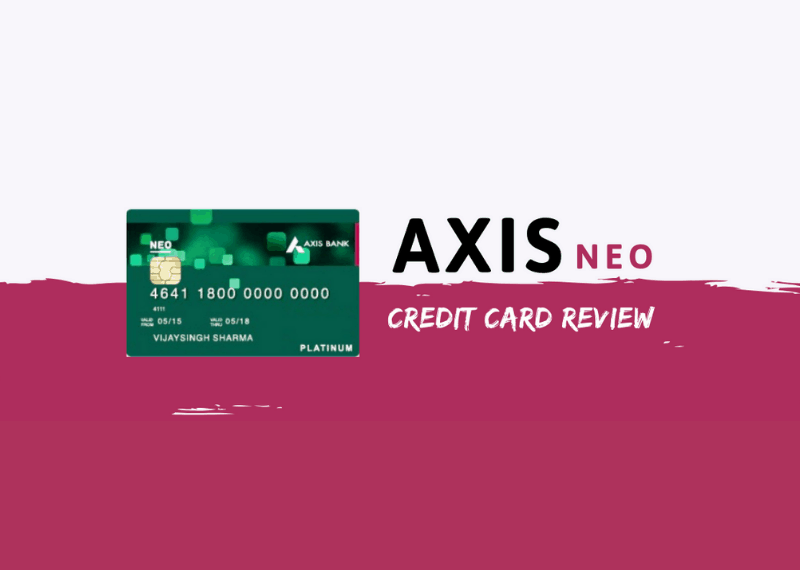 how to apply for axis bank neo credit card