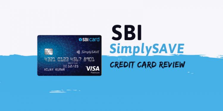 SBI Simply save credit card review