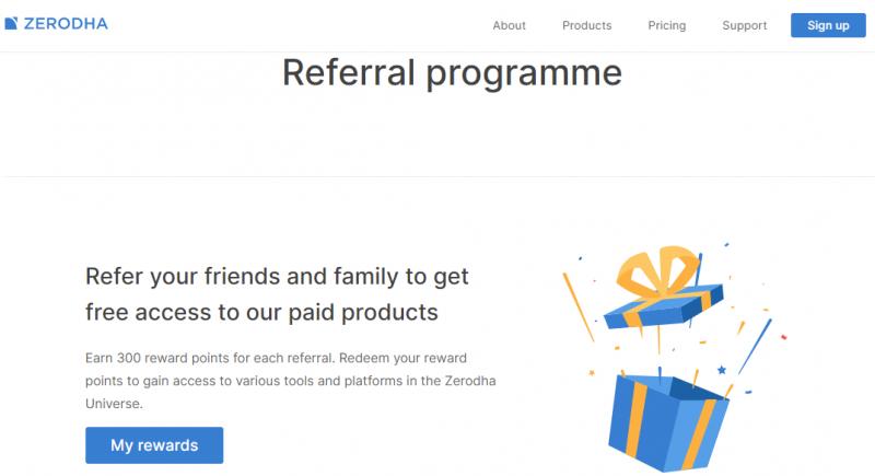 zerodha referral program