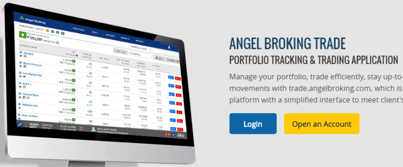 Angel Broking Trade Web based Trading platform