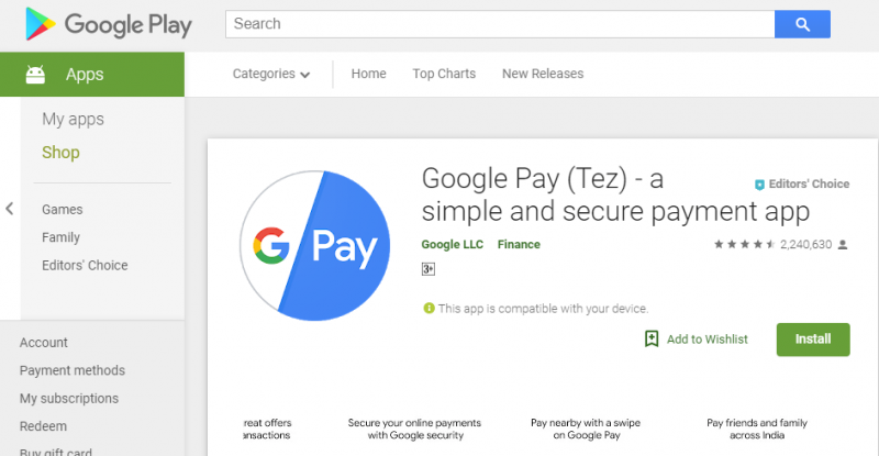 Google Pay to monetize online from Google