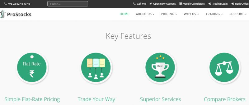 ProStocks Home Page