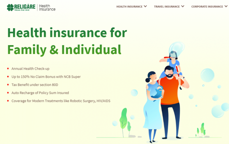 Religare (CARE) Comprehensive Health Insurance Plan review