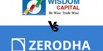 wisdom capital vs zerodha
