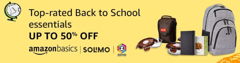 Amazon Back to School sale