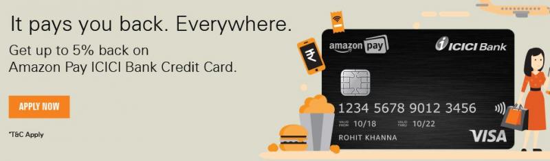Amazon Pay ICICI Bank Credit Card