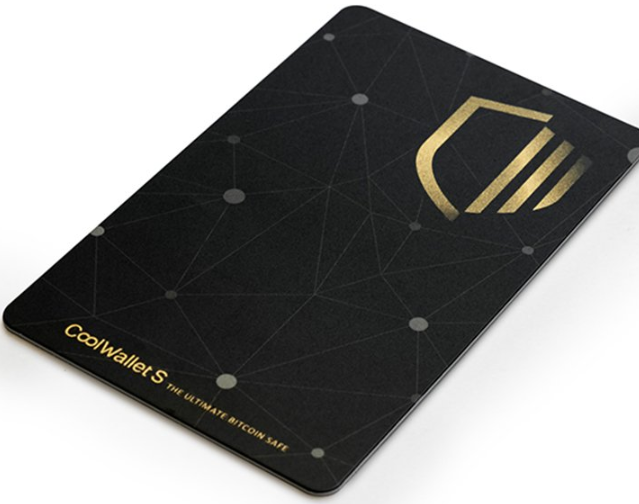 Cool Wallet S for Bitcoin