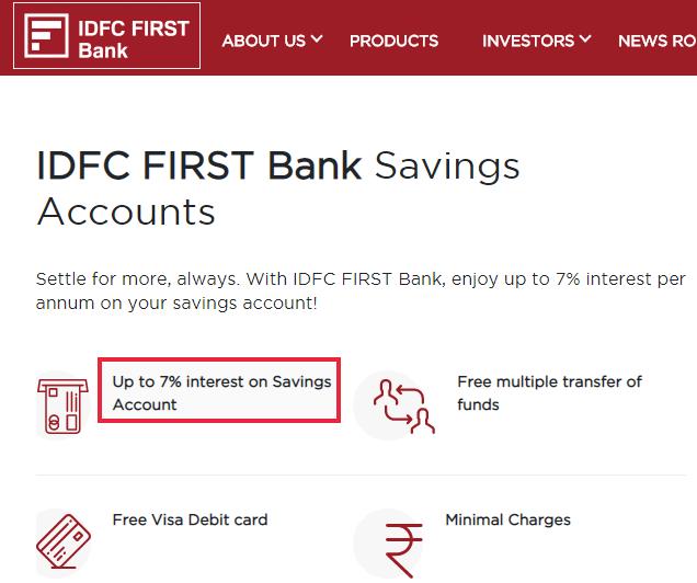 Select A Better Savings Account