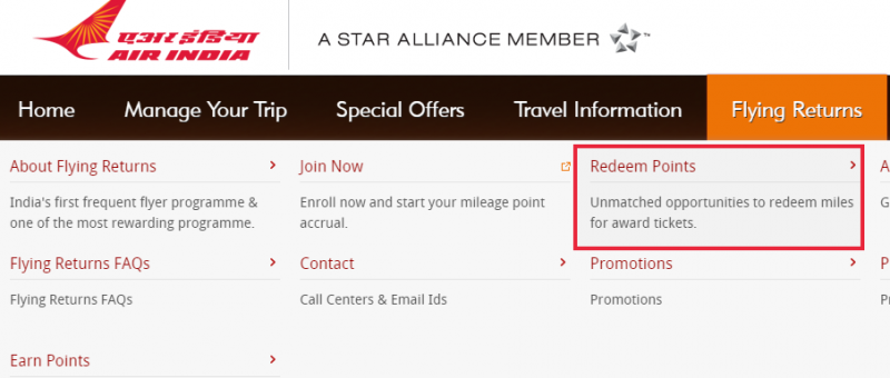 Redeem Air Miles To Book Tickets