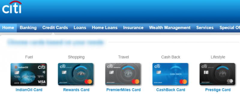 Citi Bank Credit Card Annual Fee Waiver