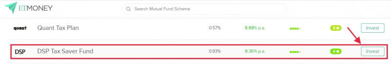 ETMONEY -Select Mutual Fund Scheme