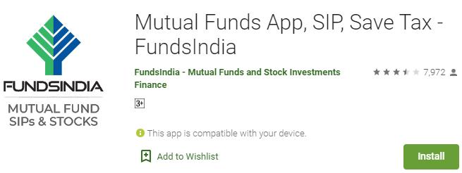 FundsIndia App