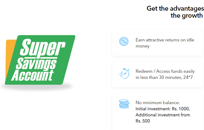 FundsIndia Super Savings Account