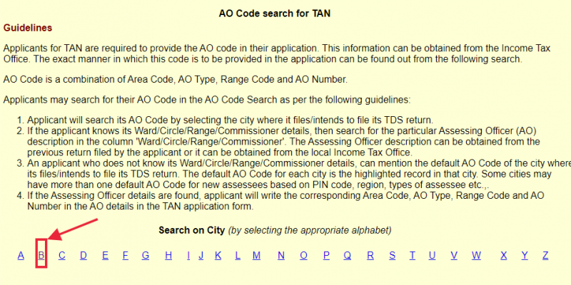 """Know your tax """"Assessing Officer"""" code details"""