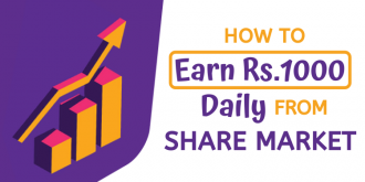 how to earn 1000 rs daily from share market