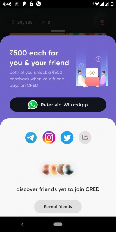 Refer offer